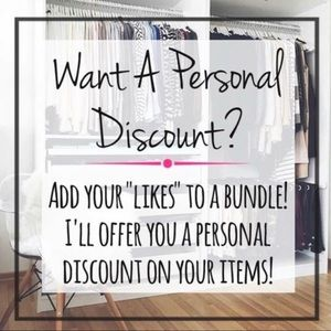 Discounts!!! Ask and you shall receive.